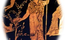 H θεά Αθηνά