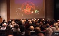 Άποψη της αίθουσας εκδηλώσεων του Μουσείου Ακροπόλεως κατά την πρώτη ημέρα διεξαγωγής του Διεθνούς Συνεδρίου.