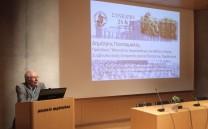 Ο Πρόεδρος του Μουσείου της Ακροπόλεως και Μέλος της Ειδικής Συμβουλευτικής Επιτροπής για τα Γλυπτά του Παρθενώνα κ. Δημήτριος Παντερμαλής.