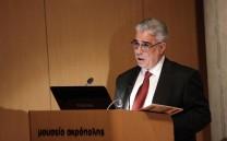 Ο Πρόεδρος του Συλλόγου των Αθηναίων κ. Ελευθέριος Γ. Σκιαδάς.
