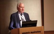 Στο βήμα Prof. Emer. Ove Bring (Stockholm University)