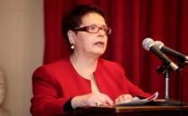 Η Πρόεδρος της Ενώσεως Γυναικών Φωκίδος κ. Λαμπρινή Κουφάκη