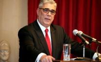 Ο Πρόεδρος του Συλλόγου των Αθηναίων κ.Ελευθέριος Γ. Σκιαδάς κατά τη διάρκεια της ομιλίας του.