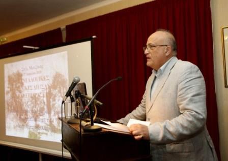 Ο Πρόεδρος της Εραλδικής και Γενεαλογικής Εταιρείας της Ελλάδος κ. Ιάκωβος Ναυπλιώτης.