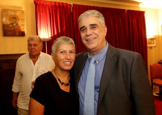Ο Πρόεδρος κ. Ελ.Σκιαδάς με το μέλος κ. Γιώτα Παπαδοθωμάκου-Λίνου
