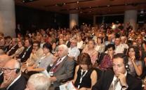 Άποψη της αιθούσης του Μουσείου της Ακροπόλεως κατά τη διάρκεια του Διεθνούς Συνεδρίου.