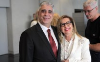 Ο κ. Ελευθέριος Σκιαδάς και η κ. Βενετία Πιτσιλάδη-Chuard
