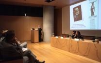 Κατά τη διάρκεια της εισηγήσεως του Προέδρου του Συλλόγου των Αθηναίων κ. Ελευθερίου Σκιαδά.
