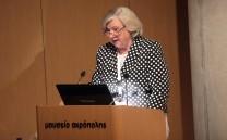 Η κα Αναστασία Γραμματικάκη Αλεξίου, Ομότιμη Καθηγήτρια Νομικής Σχολής Αριστοτελείου Πανεπιστημίου Θεσσαλονίκης.