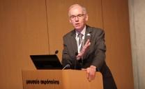 Hon Steve Ashton, Chair of the Canadian Committee.