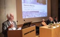Mr Dennis Menos, Secretary of the IARPS.
